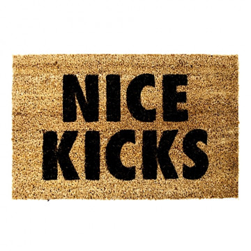 "NEED MORE ""NICE KICKS"" DOORMAT - NM011"