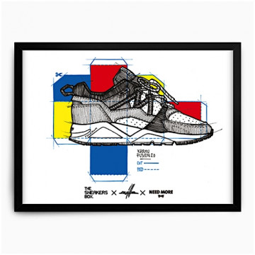 THESNEAKERSBOX x KWILLS x NEED MORE | ART PRINT