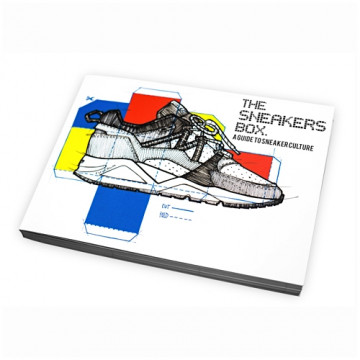 "THE SNEAKERS BOX ""A GUIDE TO SNEAKER CULTURE"" BOOK No.01 - TSB001"