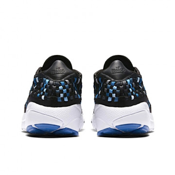NIKE AIR FOOTSCAPE WOVEN NM | BLACK/BLUE JAY