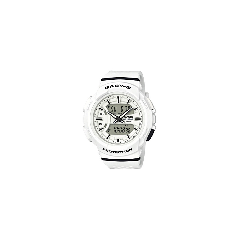 CASIO BABY-G 240 WHITE/BLACK