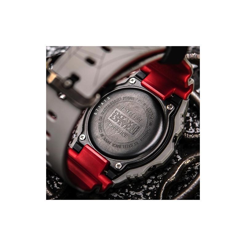 """CASIO G-SHOCK x SNEAKER FREAKER DW-5700 """"REDBACK"""""""