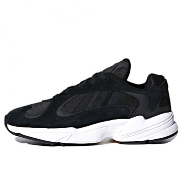 "ADIDAS YUNG-1 ""CORE BLACK/CORE BLACK/FOOTWEAR WHITE"" - CG7121"