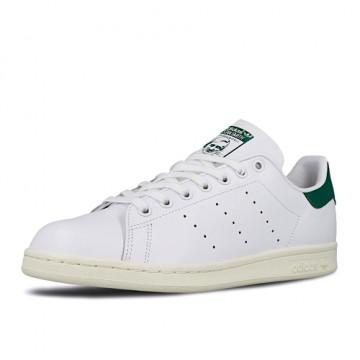 "ADIDAS STAN SMITH ""FOOTWEAR WHITE/OFF WHITE/BOLD GREEN"" - BD7432"