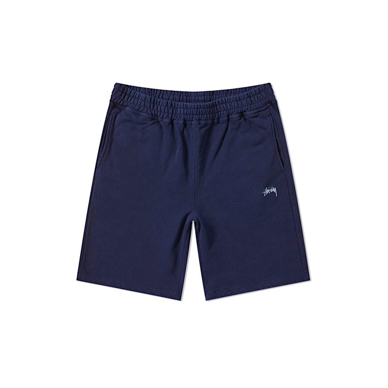 "STUSSY STOCK FLEECE SHORT ""NAVY"" - 112232"