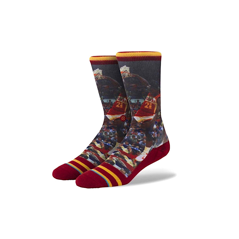 "STANCE DOMINIQUE WILKINS SOCKS ""MULTICOLOR"" NBA LEGENDS"