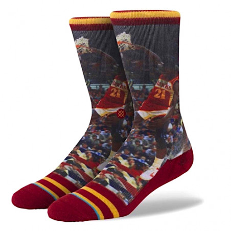 "STANCE socks DOMINIQUE WILKINS SOCKS ""MULTICOLOR"" -  NBA LEGENDS"