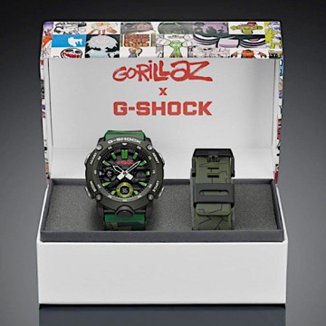 CASIO G-SHOCK x GORILLAZ GA-2000GZ-3AER - CAMO
