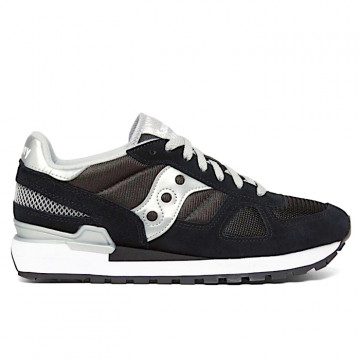 "SAUCONY SHADOW ORIGINALS Woman  ""BLACK/SILVER"" - 1108 671"