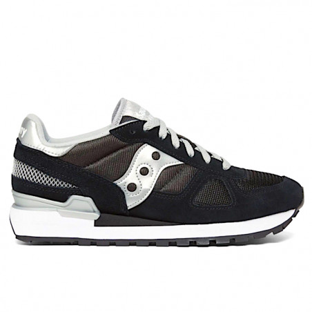 "SAUCONY SHADOW ORIGINAL Donna ""BLACK/SILVER"" - 1108 671"
