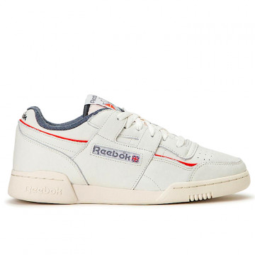 "REEBOK WORKOUT PLUS MU ""CHALK/RADIANT RED/TRUE GREY"" - EG6446"
