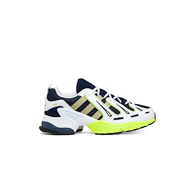 "ADIDAS EQT GAZELLE ""COLLEGIATE NAVY/RAW GOLD/SOLAR YELLOW"" - EE7742"