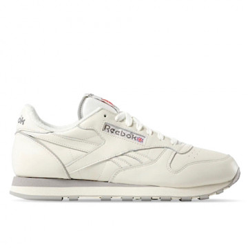 "REEBOK CLASSIC LEATHER 1983 TV ""CHALK/PAPER WHITE/CARBON"" - DV6433"