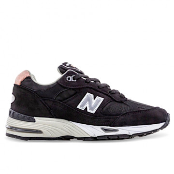 "NEW BALANCE W 991 KKP Woman ""MADE IN ENGLAND"" BLACK/PINK - W991KKP"