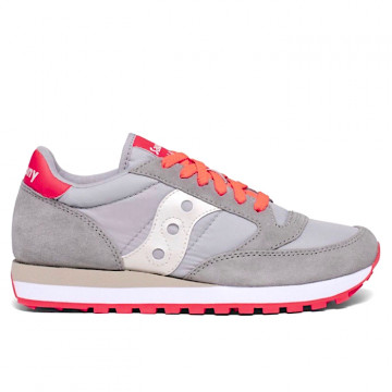 "SAUCONY JAZZ ORIGINAL Donna ""GREY/ORANGE"" - S1044 564"