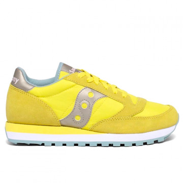 "SAUCONY JAZZ ORIGINAL Donna ""YELLOW/GREY"" - S1044 562"