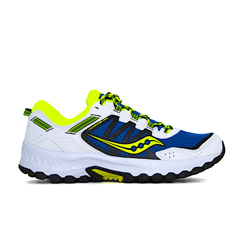 "SAUCONY EXCURSION TR13 ""BLUE/CITRON/BLACK"" - 20524 21"