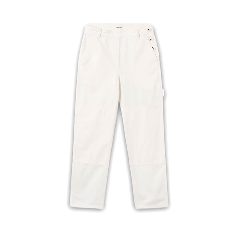 """WOOD WOOD ESTHER TROUSES Woman """"OFFWHITE"""" - 12011605 5215"""