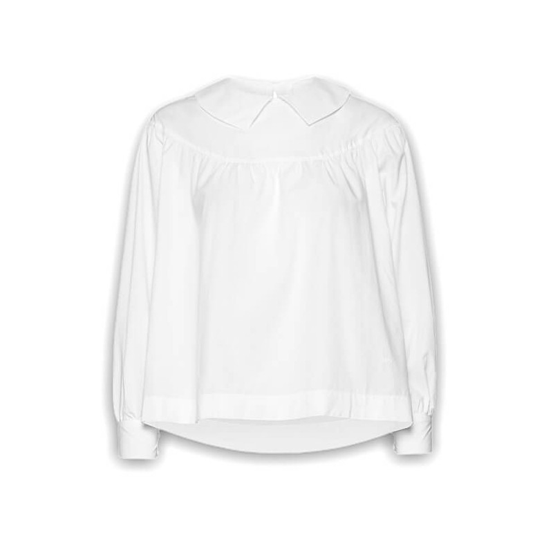 "WOOD WOOD MAIA TOP Donna ""BRIGHT WHITE"" - 12012000 1167"
