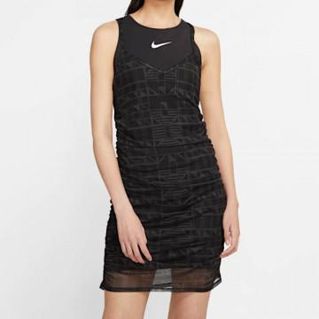 """NIKE INDIO DRESS Woman """"BLACK/BLACK/WHITE"""" - CJ3000 010"""
