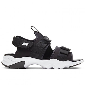 "NIKE CANYON SANDAL Woman ""BLACK/WHITE/BLACK"" - CV5515 001"