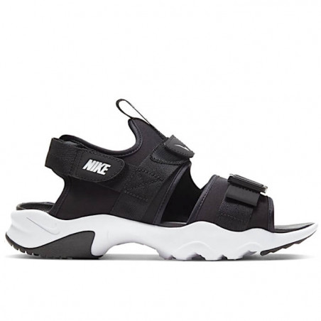 "NIKE CANYON SANDAL Donna ""BLACK/WHITE/BLACK"" - CV5515 001"