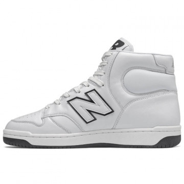 "NEW BALANCE BB 480 HE ""WHITE/BLACK"" - BB480HE"