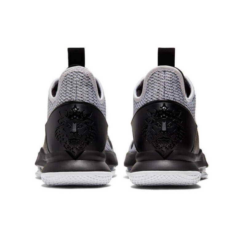 "NIKE LEBRON WITNESS 4 ""WHITE/BLACK/WHITE"" - BV7427 101"