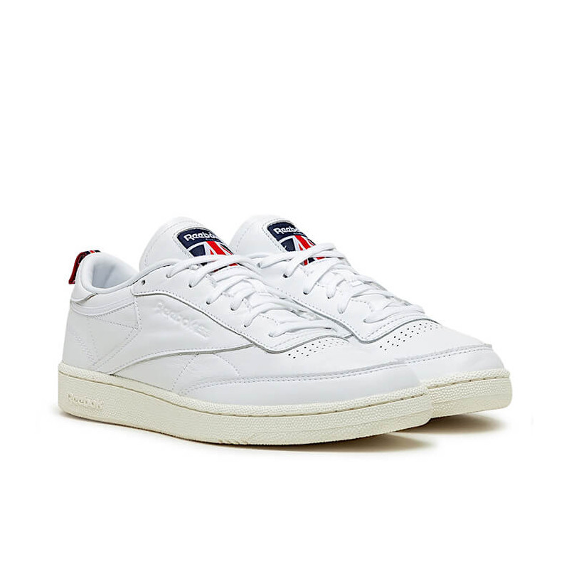 "REEBOK CLUB C 85 ""WHITE/CHALK/VECTOR NAVY"" - FW7798"