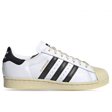 "ADIDAS SUPERSTAR ""FOOTWEAR WHITE/CORE BLACK/BLUE"" - FV2831"