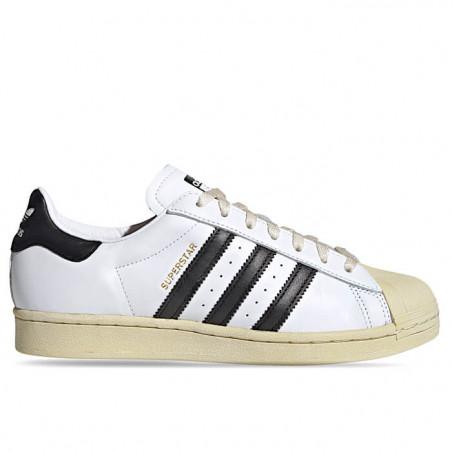 "ADIDAS SUPERSTAR ""FOOTWEAR WHITE/CORE BLACK/BLUE"" - FV2831"
