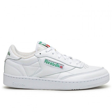 "REEBOK CLUB C 85 ""WHITE/WHITE/GLEN GREEN"" - FX3874"