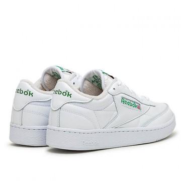 """REEBOK CLUB C 85 """"WHITE/WHITE/GLEN GREEN"""" - FX3874"""