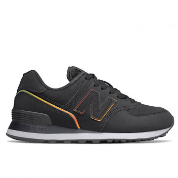 "NEW BALANCE Woman WL 574 CLG ""BLACK"" - WL574CLG"