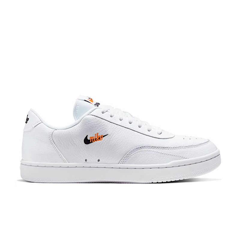 "NIKE COURT VINTAGE PREMIUM Woman ""WHITE/BLACK/TOTAL ORANGE"" - CW1067 100"