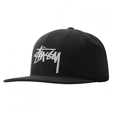 "STUSSY STOCK CAP ""BLACK"" -..."