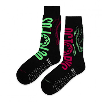 "OCTOPUS LOGO SOCKS ""BLACK""..."