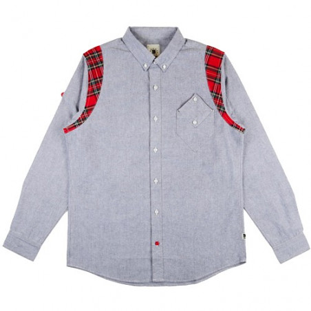 BODEGA PLAID BUTTON UP L/S SHIRT